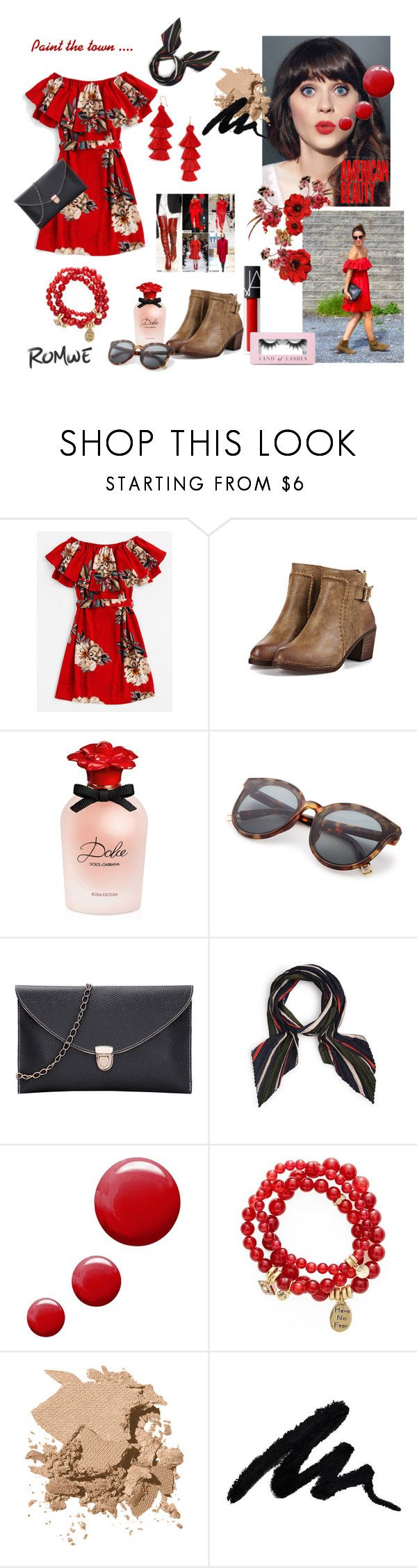 Dolce ROsa by paisleyvelvetandlace on Polyvore featuring Sequin, Bobbi Brown Cosmetics, Dolce&Gabbana, Boohoo and Topshop