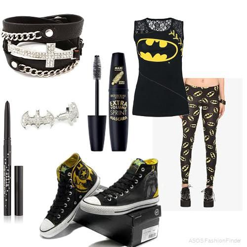 Batman Outfit | Women's Outfit | ASOS Fashion Finder