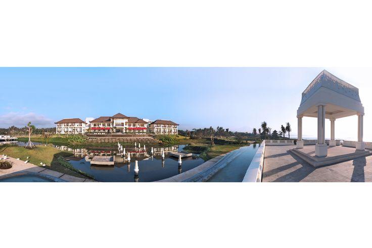 waterfront venue in Bali