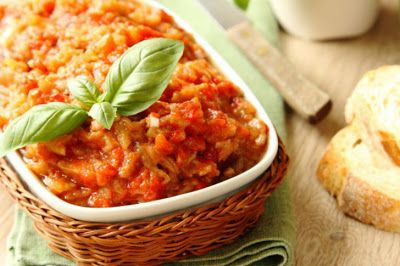 Ukrainian cooking: Eggplant Caviar
