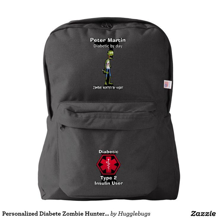 Personalized Diabete Zombie Hunter Medical Alert