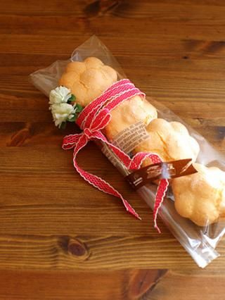 「ブッセのラッピング」Miraさんの3分間ラッピング | お菓子・パンのレシピや作り方【corecle*コレクル】