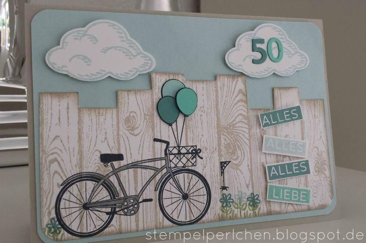 Stempelperlchen : Geburtstagskarte