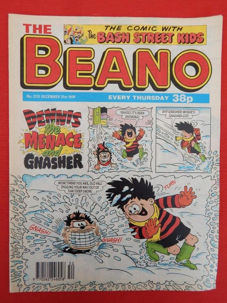 Beano Christmas/NY edition Comic 31st December 1994- Nostalgic/retro gift - VGC