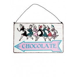 Chocolate Sign £6.50
