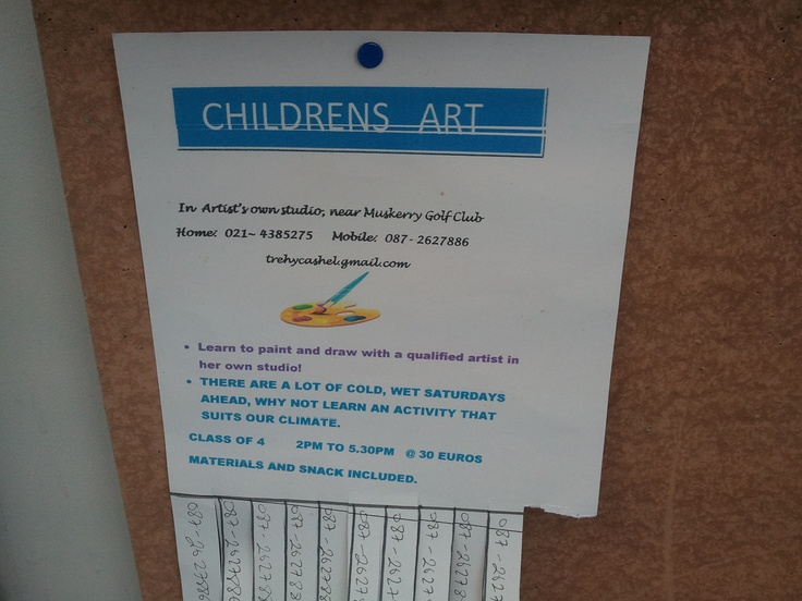 Childrens Art classes
