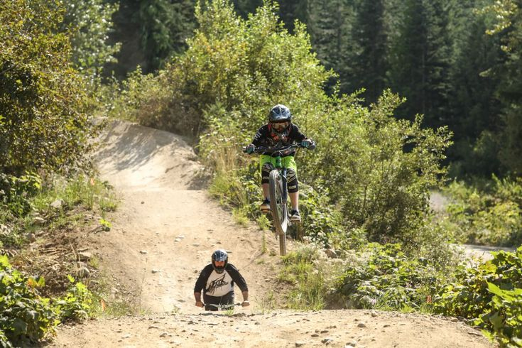 Girls Love To Downhill Mountain Bike Too