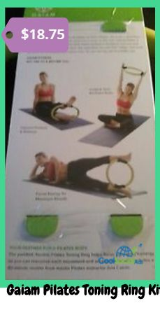 Gaiam Pilates Toning Ring Kit with DVD for more details visit http://coolsocialads.com/gaiam-pilates-toning-ring-kit-with-dvd-34818
