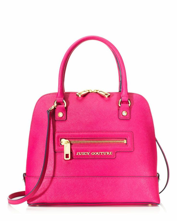Pink leather Juicy Couture bag
