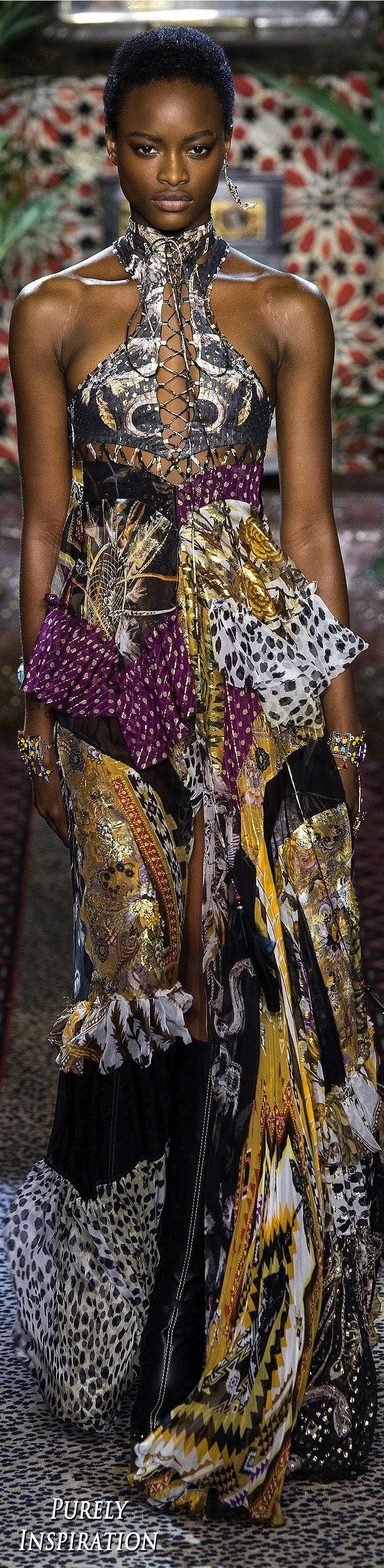 Roberto Cavalli SS2017 Woman's Fashion RTW | Purely Inspiration