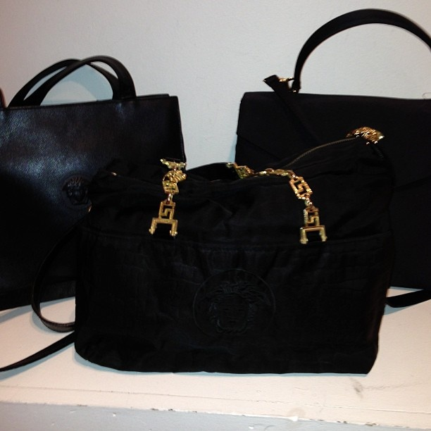 Versace classic bags just in Mtl love them Gianni's Versace classic #versace - @remixclothing- #webstagram
