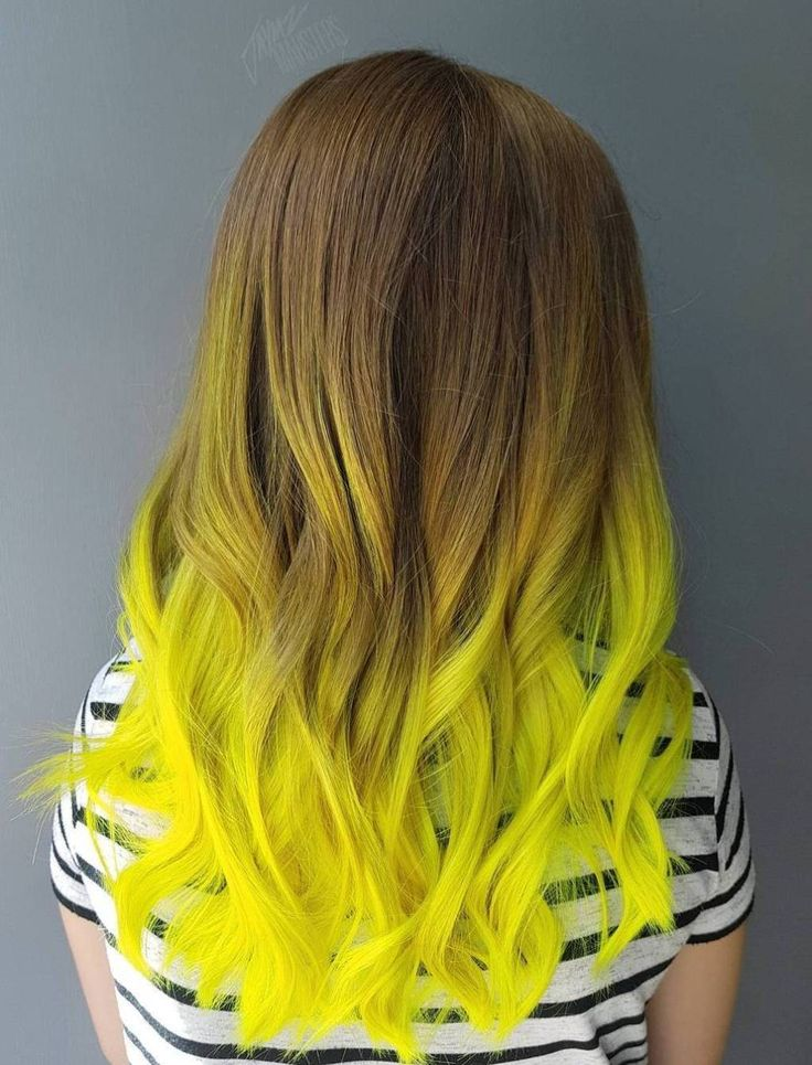 40 Two Tone Hair Styles Hair styles, Yellow hair color