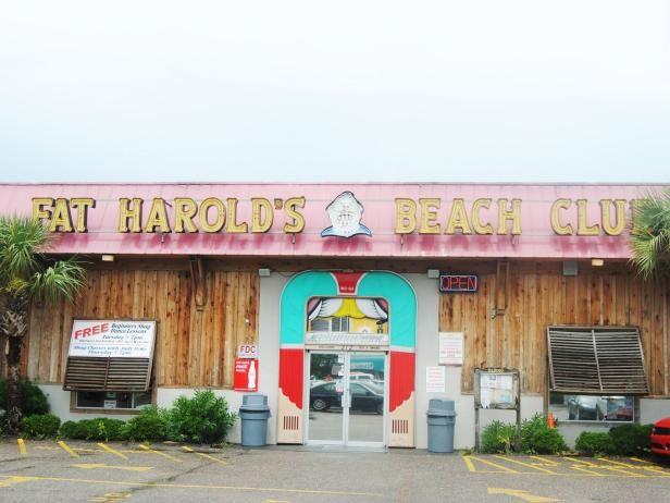 Fat Harold's Beach Club, restaurant, Myrtle Beach, South Carolina