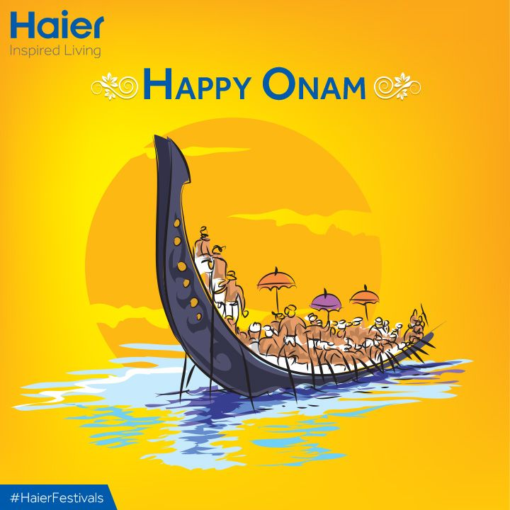 Let the spirit of #Onam fill your lives with Prosperity and Happiness. #HappyOnam folks.