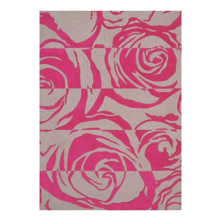Floral Pink Carpet