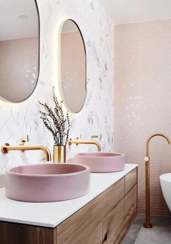 17 Millennial Pink Bathroom Styles Home Design And Interior Bathroom Interior Design Bathroom Interior Bathroom Design