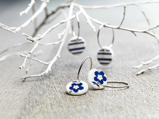 Earrings from Andersen Porcelain