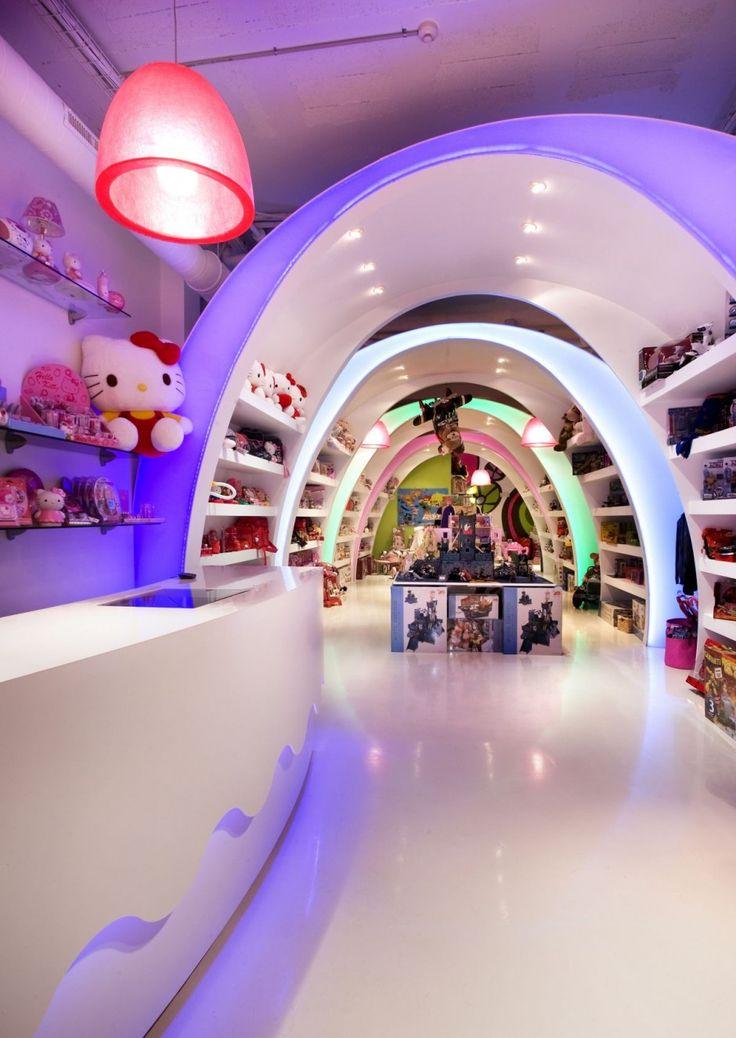 Superior Luxury Pilaru0027s Story Toyshop Design By Elia Felices Interior Styles Amazing Design