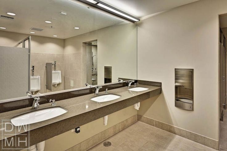 Best 25 commercial bathroom ideas ideas on pinterest - Commercial lighting fixtures interior ...