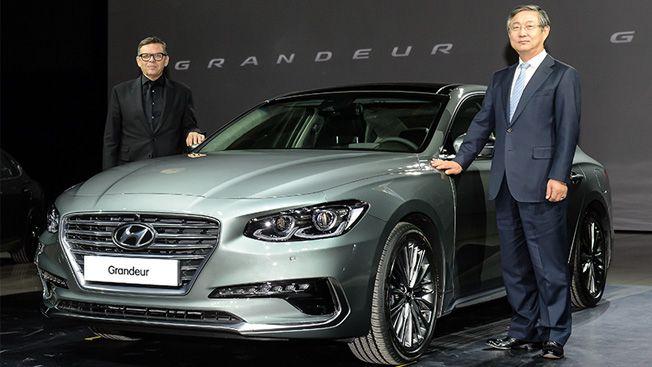 2017 #Hyundai #Grandeur launched in South Korea