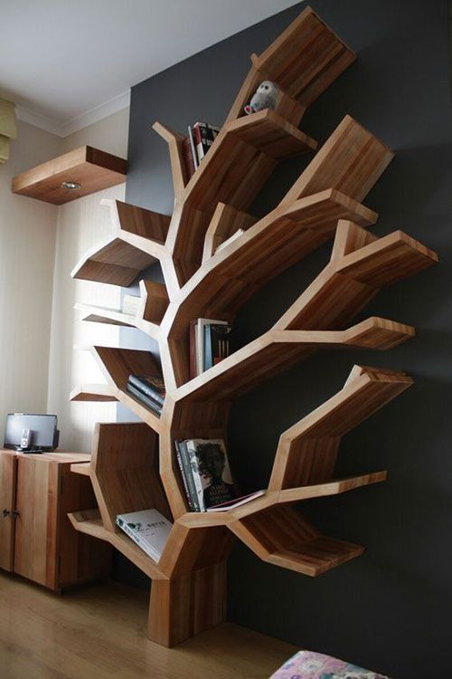 50+ Cool and creative bookshelves