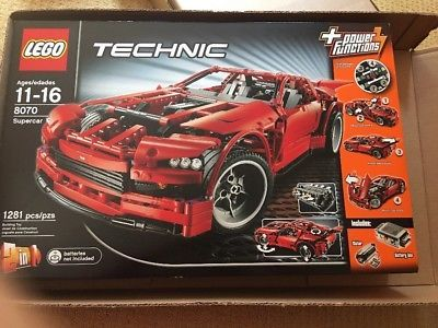 ﹩239.00. LEGO Technic 8070 Super Car NEW Sealed Supercar    LEGO Theme - Technic