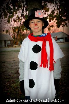 diy snowman costume - Google Search