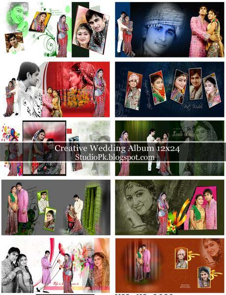 07 Creative Wedding Album 12x24 Free Download