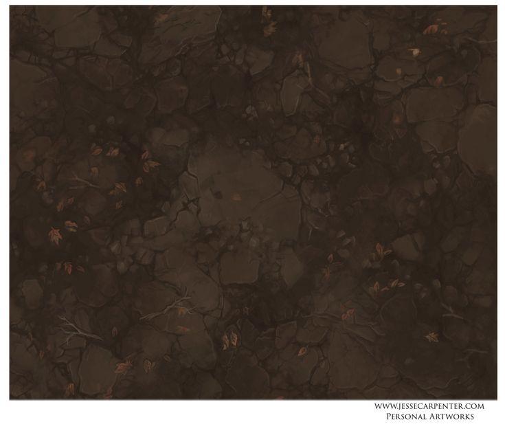 ArtStation - Hand Painted Terrain Textures, Jesse Carpenter