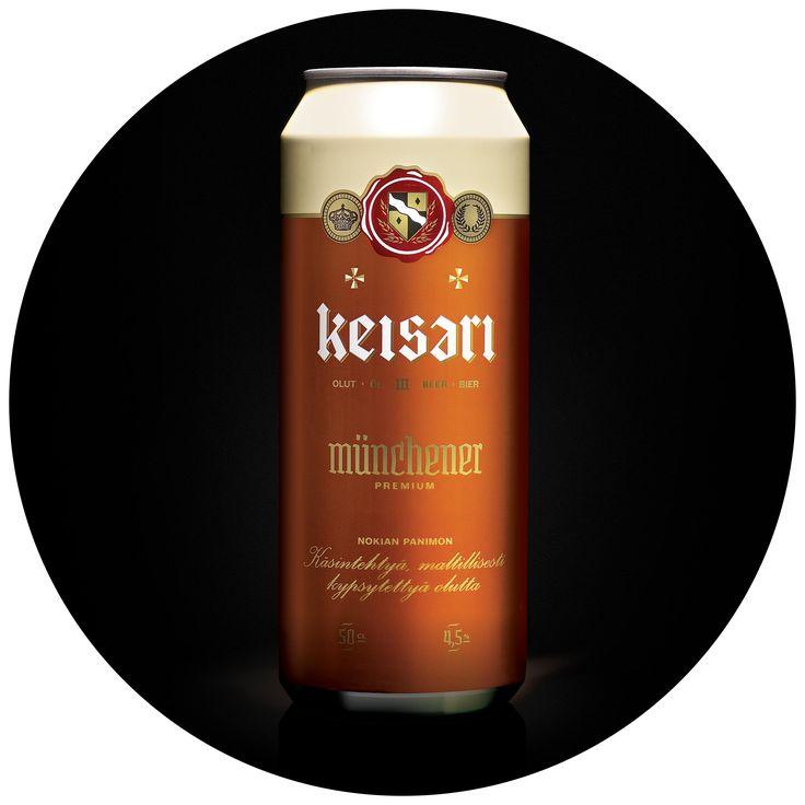 Keisari olut pakkaussuunnittelu