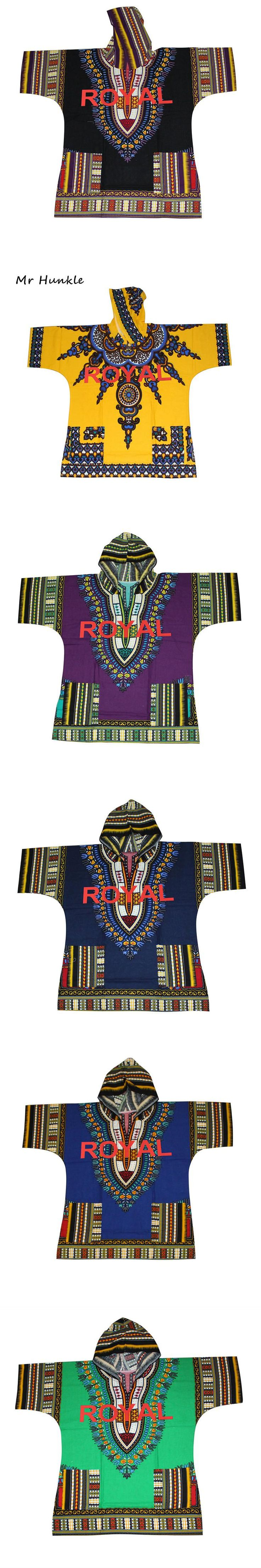 Mr Hunkle New Design Dashiki Hoodies Red Royal Printted African Clothing  African Dashiki For Women Men Plus Size XXL,XXXL