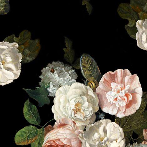Tessa Floral  fabric - willowlanetextiles - Spoonflower