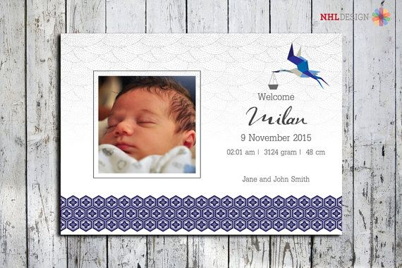 Hey, I found this really awesome Etsy listing at https://www.etsy.com/listing/258592345/birth-announcement-printable-customized
