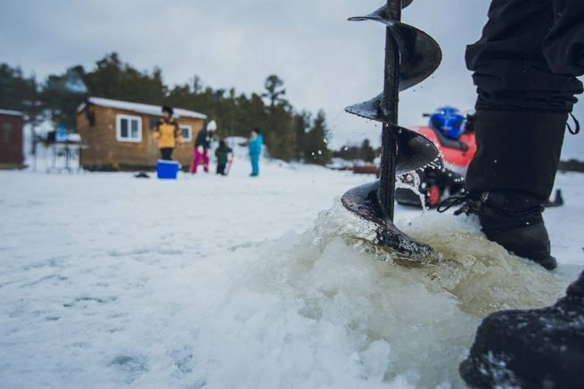 Huts & Bungalows: A Round Up of Lake Nipissing Ice Fishing Operators - Northeast Ontario