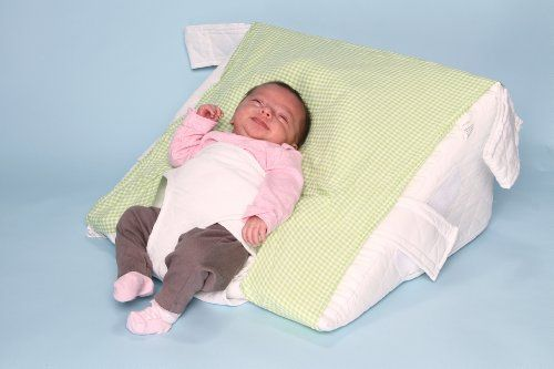 Baby AR Pillow - Acid Reflux Pillow Wedge for Babies and Infants - Safely Elevate to a 30 Degree Angle - The Researched, Proven & Best Positioner to Relieve Colic and Acid Reflux