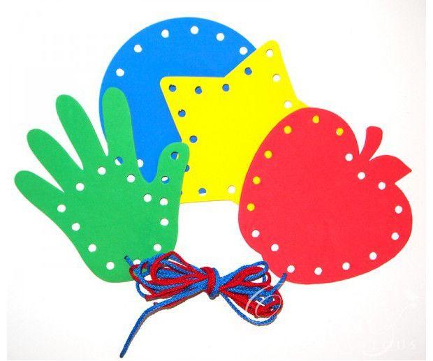 Tarjetas para aprender a coser ¡Manualidades educativas para los peques! - Nosotras
