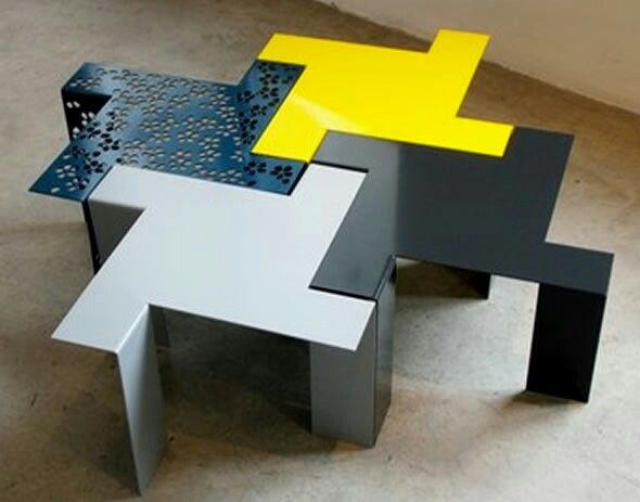 Modular Tables, Interlocking | Modular Space/Place | Pinterest | Space Place