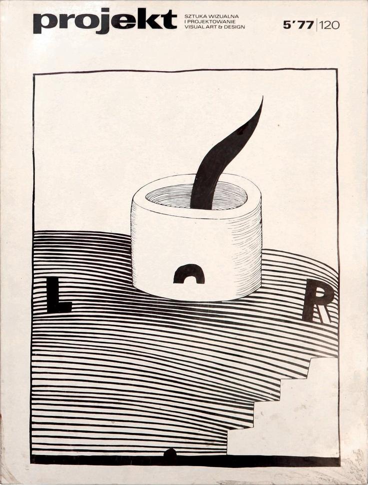 #Projekt No. 5, 1977. Cover art by Stanislaw Fijalkowski. | via Unit Editions https://twitter.com/uniteditions/status/254215344850354176/photo/1/large