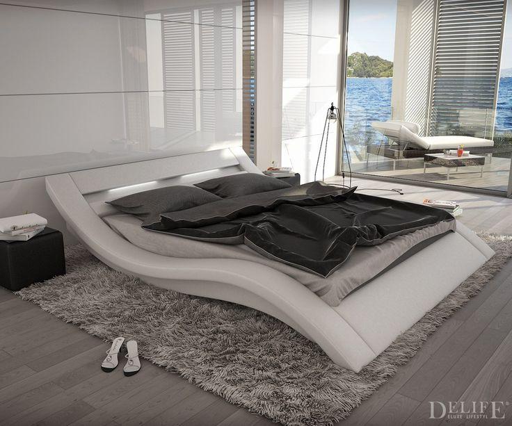 Außergewöhnliche betten mit licht  36 besten DELIFE - Deluxe Beds Bilder auf Pinterest | Weiss ...