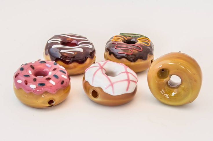The KGB Glass Donut Pipe is beautifully hand-crafted, hand-blown, and truly one-of-a-kind. Grab your KGB glass pipe from Legal Smoke Shop