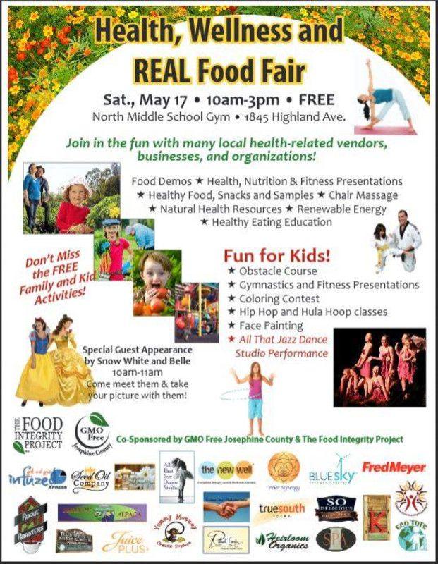 health fair flyer samples