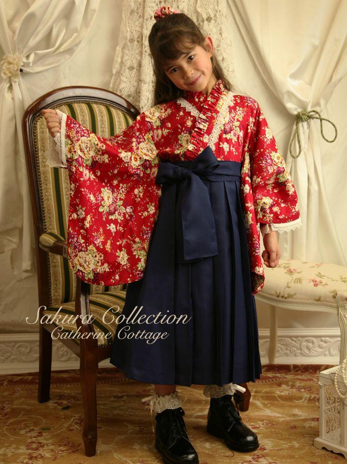 花柄着物ドレス+袴スカート福袋