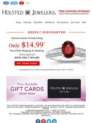57 best Holsted Jewelers Exclusive Offers images on Pinterest ...