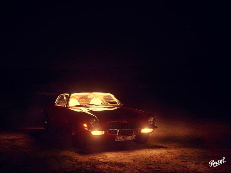 car, night