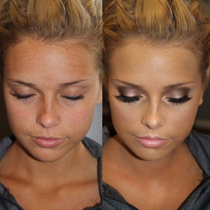 Sexy gray smokey eyes: Sephora Moonshadow baked eyeshadow palette ~ tutorial @ KissableComplexio...