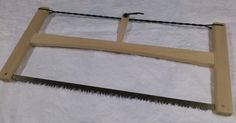 Classic 24inch wooden folding buck saw