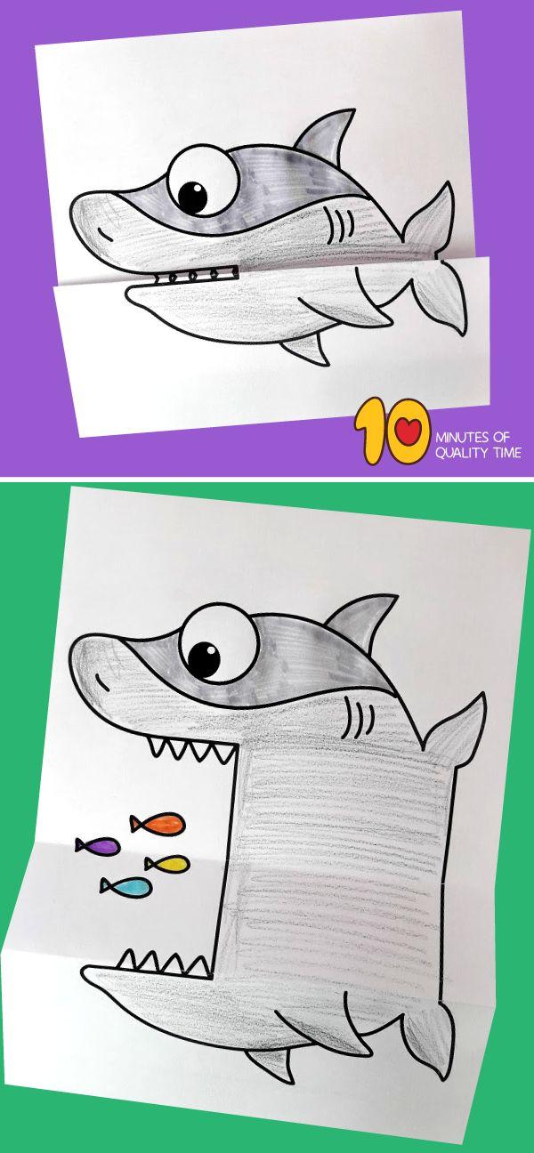 Shark Folding Paper