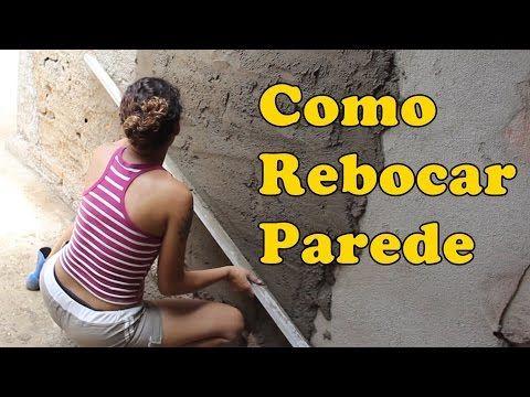 COMO LEVANTAR UMA PAREDE PASSO A PASSO - YouTube