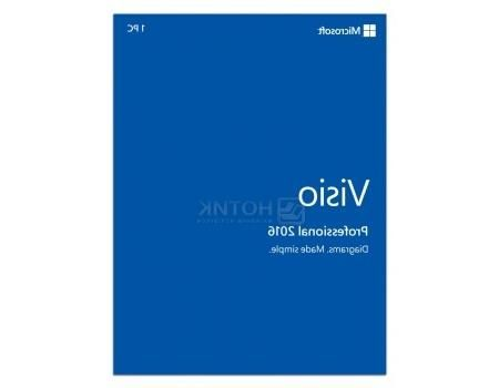 Электронная лицензия Ms Visio Professional 2016 for Windows, D87-07114
