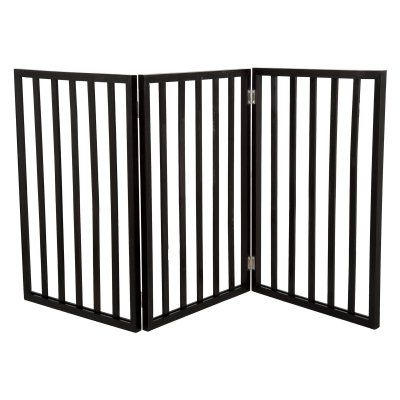 Petmaker Freestanding Foldable Wooden Pet Gate - M320097
